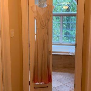 Diane von Furstenberg ombré dress